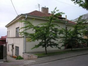 Former Japanese consulate in Kaunas.