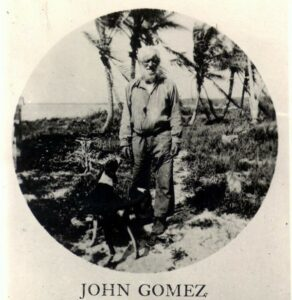 John Gomez, also known as Juan Gomez and Panther John. Source of the stories which became inspiration for the legend of Jose Gaspar