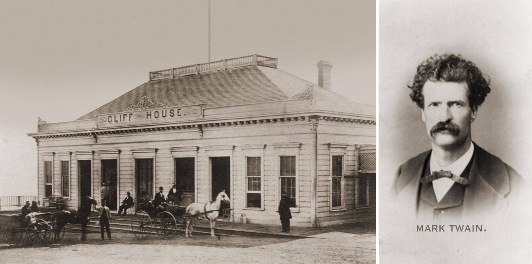 San Francisco 1864 – Mark Twain's Amusing Ride to the Cliff House