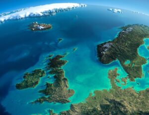 Doggerland once covered a vast swath of land between what is now the east coast of England and the European mainland.