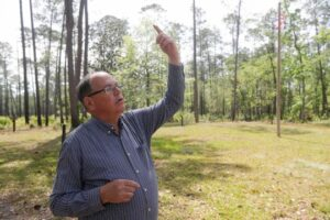 Local historian Dale Cox talks about the history of the Negro Fort that stood at Prospect Bluff in the Apalachicola National Forest