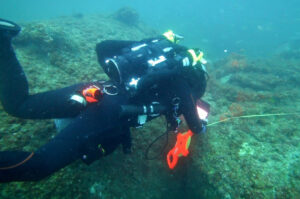 Underwater explorers have found the wreckage of a ship lost in the Bermuda Triangle a century ag
