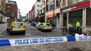Soho is being evacuated for a second day after more of an unexploded WWII bomb was found by the Soho Hotel. Dean Street is blocked off and there's a sizeable police presence in the area.