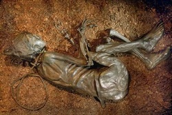 Tollund Man as he appears today.