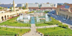 Erbil: a mixture of modern and traditional
