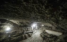 The mummies were in catacombs in the minya province in the centre of the country