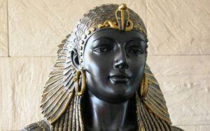 Bust of  Queen Cleopatra