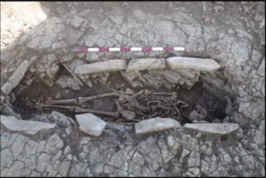 Forced labourers buried at the site are said to have helped build a nearby Roman villa