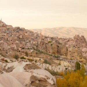 The incredible cave houses of Cappadocia, Turkey.