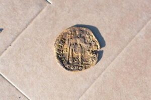 The coin recently unearthed at Sandby Borg