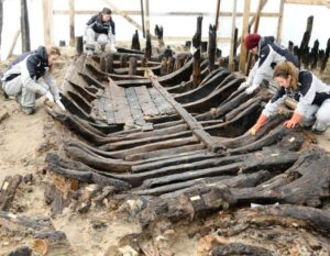 The future reveals the past: A subway expansion project in Turkey unearths a lost port and the largest known collection of Byzantine shipwrecks