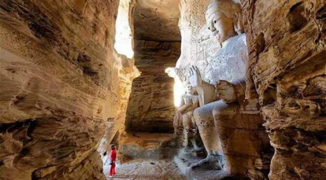 An Underground City Full Of Giant Skeletons Discovered In The Grand Canyon