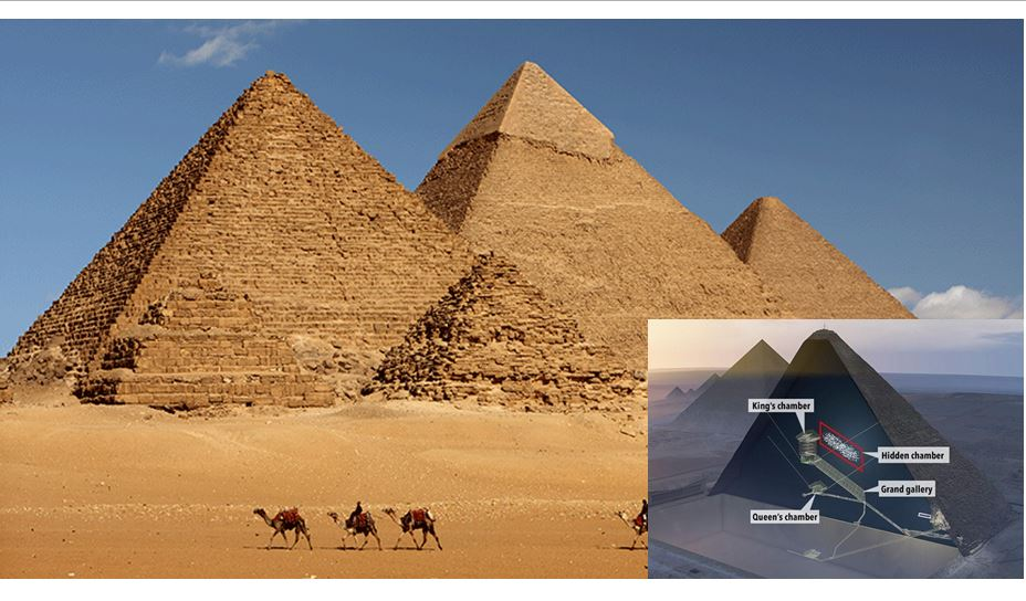 Scientists uncover a mysterious 'big void' in Great Pyramid Of Giza