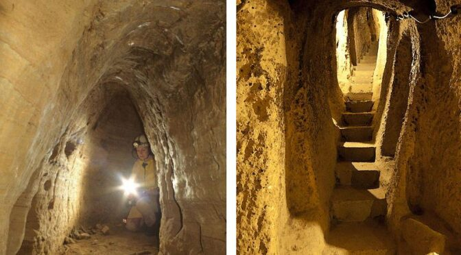 Extensive Ancient Underground Networks Discovered from Scotland to Turkey
