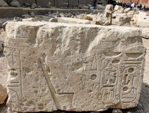 The sun temples were purportedly double the size of Luxor's Karnak but were destroyed during Greco-Roman times