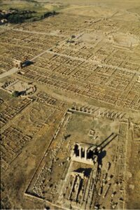 Timgad photographed by Brian Brake for LIFE magazine, 1965