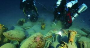 Underwater researchers were exploring waters in Florida when they came across the shipwreck of a Roman vessel.