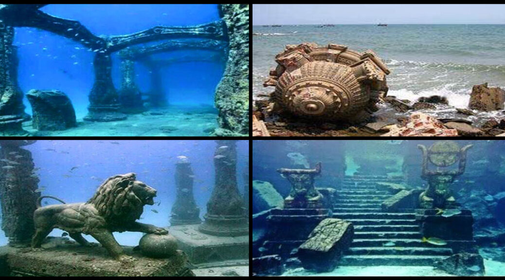 India: Archaeologists found 9,000 years old city beneath the surface of modern-day Dwarka.