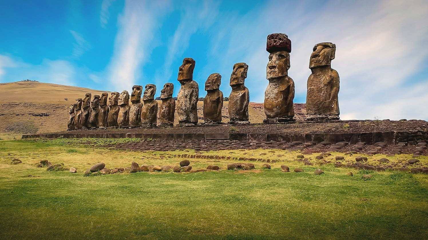 After the deforestation of Easter Island, the Rapanui Society continued