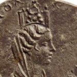 A treasure of silver and bronze coins discovered in Georgia