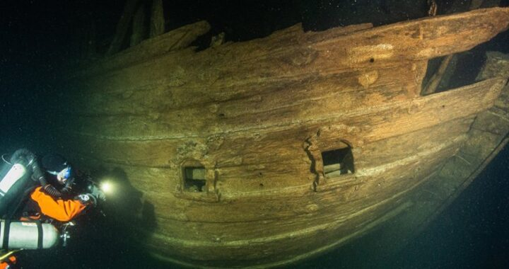 Eerily Well-Preserved 17th Century Ship Found in The Dark Waters of The Baltic Sea
