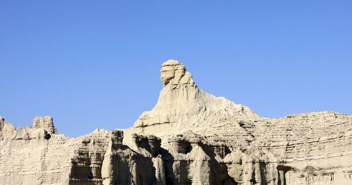 A 12,500-year-old sphinx discovered in Pakistan
