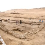 Two 4,500-year-old houses discovered near Giza pyramids in Egypt.