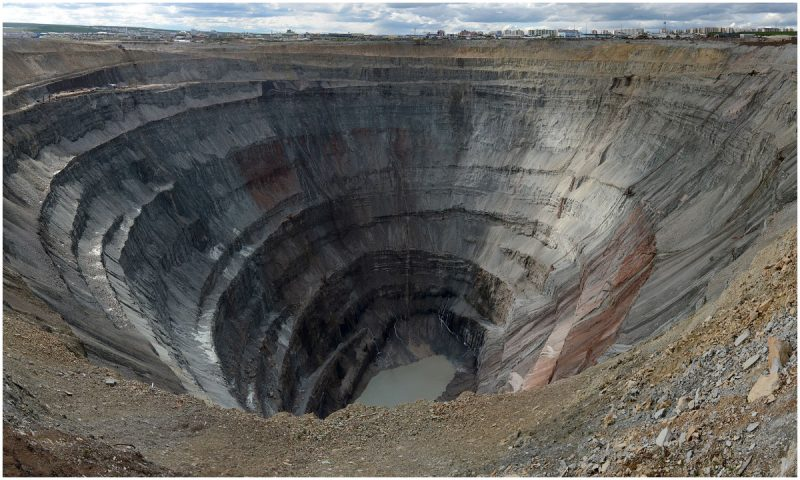 One of the World's Biggest Holes in the Middle of Nowhere